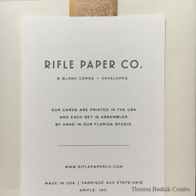 Rifle Paper Copy