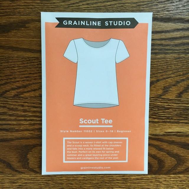 Grainline Studio Scout Tee 01